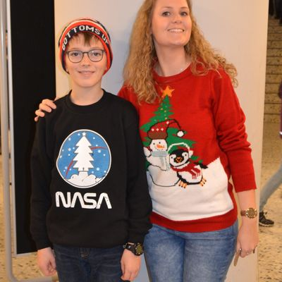 Ugly Christmas Sweater Day 2018